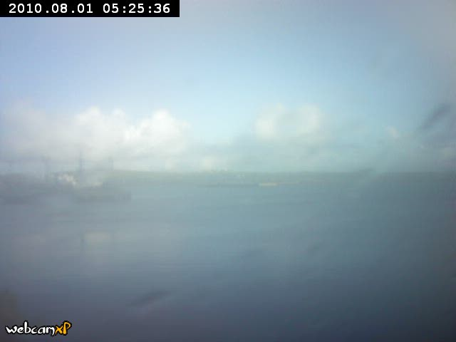 Stromness, Orkney, Northern Scotland - Webcam Image